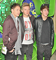 LONDON - November 14: District 3 at Children in Need POP goes the Musical: Shrek The Musical (Photo by Brett D. Cove)