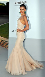 Irina Shayk at the amfAR event held at the Hotel du Cap, France on Thursday, 24th May 2012. Photo by: i-Images