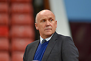 Hull City manager Mike Phelan ahead of the EFL Cup match between Stoke City and Hull City at the Britannia Stadium, Stoke-on-Trent, England on 21 September 2016. Photo by John Marfleet.