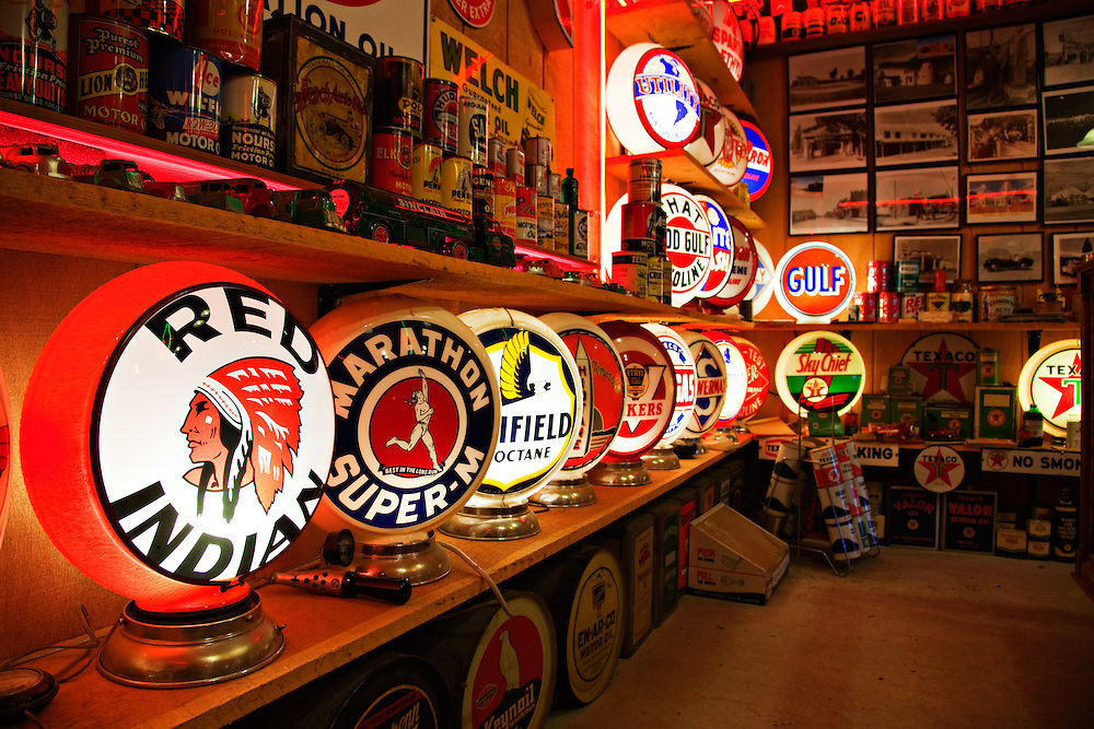 """The treasures of the Route 66 era are wating to be discovered inside """"Classical Gas"""" in Embudo, New Mexico."""