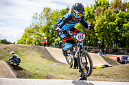 #172 (CURTIS Leanna) AUS at Round 4 of the 2019 UCI BMX Supercross World Cup in Papendal, The Netherlands