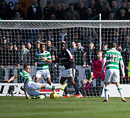 Celtic&rsquo;s Jozo Simunovic open the scoring  with thanks to a deflection off Dundee&rsquo;s Kevin Gomis - Dundee v Celtic in the Ladbrokes Scottish Premiership at Dens Park, Dundee.Photo: David Young<br /> <br />  - &copy; David Young - www.davidyoungphoto.co.uk - email: davidyoungphoto@gmail.com