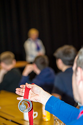 Pictured: Commonweath Silver medalist Steph Ingles spoke to the students about her recovery from a motorcycle accident in Vietnam where she was in a coma for six weeks<br /> <br /> Police Scotland visited Craigroyston High Schoolto today to host motorcycle safety seminar at the secondary school. The event looked at motorbike/vehicle misuse and the consequences involved after 50 students from the school were identified as potentially being involved in such activities. One of the school's 14 year old pupils, Bradley Williams died recently in a motorcycle accident recently and some of his relatives were their to plead with the students to be aware of the dangers of going on bikes with out the appropriate training and licences.<br /> Ger Harley | EEm 27 April 2017