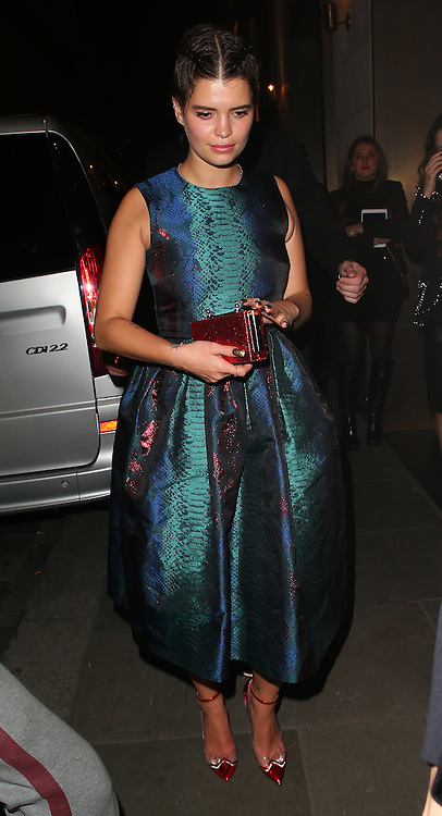 Pixie Geldof atttends the British Fashion Awards After Party at Cafe Royal in London, UK. 01/12/2014<br />