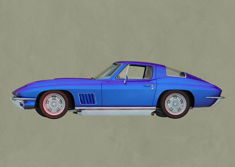 Chevrolette Corvette Stingray<br />