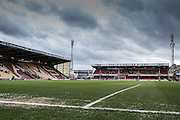 Stadium shot during the Sky Bet League 1 match between Bradford City and Millwall at the Coral Windows Stadium, Bradford, England on 26 March 2016. Photo by Simon Davies.