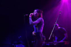 November 13, 2018 - London, England, United Kingdom - Scottish singer and songwriter Nina Nesbitt performs on stage at O2 Shepherd's Bush Empire, London on November 13, 2018. (Credit Image: © Alberto Pezzali/NurPhoto via ZUMA Press)