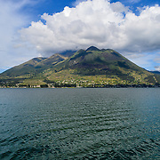Imbabura is an inactive stratovolcano in northern Ecuador.