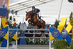 Andersson Petronella, (SWE), De Flipper<br /> Final 7 years old horses<br /> FEI World Breeding Jumping Championship <br /> Lanaken - Zangersheide 2015<br /> © Hippo Foto - Dirk Caremans<br /> 20/09/15