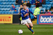Carlisle United Midfielder Jack Stacey on the attack during the Sky Bet League 2 match between Carlisle United and Bristol Rovers at Brunton Park, Carlisle, England on 28 March 2016. Photo by Craig McAllister.