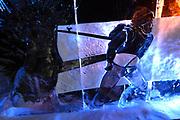Het IJsbeelden Festival presenteert '200 jaar Koninkrijk der Nederlanden', een vorstelijke geschiedenis in ijs en sneeuw.<br /> <br /> Op de foto: IJssculptuur van koning Willem-Alexander