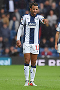 West Bromwich Albion defender Tyrone Mears (12) during the EFL Sky Bet Championship match between West Bromwich Albion and Millwall at The Hawthorns, West Bromwich, England on 22 September 2018.