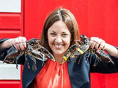 Kezia Dugdale visits lobster farm | North Berwick | 5 June 2017