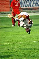 05/03/04 - ABU DHABI - UAE - Under 23 - U23 - PRE OLYMPIC GAMES - BAHRAIN Vs. LEBANON - <br />Here LEBANON player N*17  ALI NASSER EDDINE celebrating his goal.<br />© Gabriel Piko/ Piko-Press