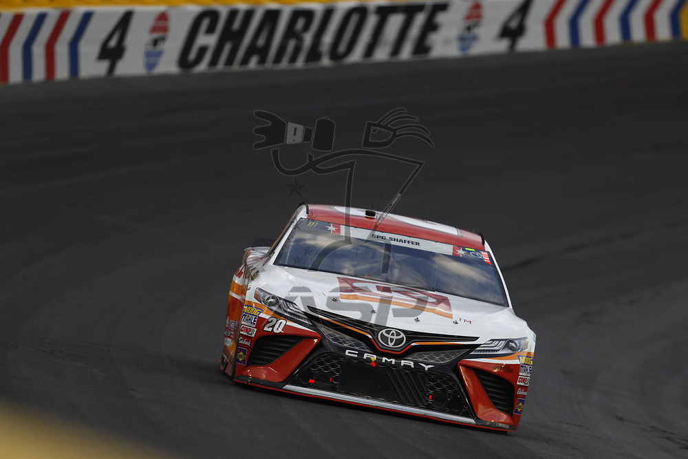 May 28, 2017 - Concord, NC, USA: Matt Kenseth (20) battles for position during the Coca Cola 600 at Charlotte Motor Speedway in Concord, NC.