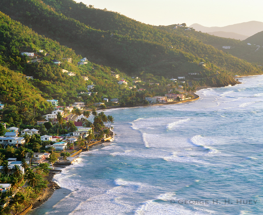 6202-1011 ~ Copyright:  George H. H. Huey ~ Great Carrot Bay, Tortola Island.  The Caribbean Sea.  British Virgin Islands.