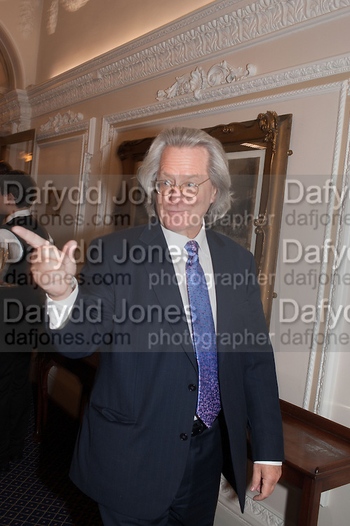 A.C. GRAYLING, The Literary Review Bad Sex fiction award 2012. The In and Out Club, 4 St. james's Sq. London. 4 December 2012