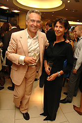 STEPHEN & FLO BAYLEY a party hosted by Links of London to celebrate the forthcoming Glorious Goodwood racing event held at links, Sloane Square, London on 25th July 2007.<br /><br />NON EXCLUSIVE - WORLD RIGHTS