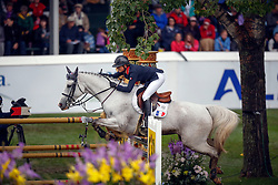 Leprevost Penelope (FRA) - Dame Blance van Arenberg<br /> BMO Nations Cup<br /> CSIO Spruce Meadows - Calgary 2013<br /> © Dirk Caremans