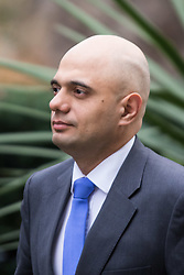 Downing Street, London, March 8th 2016. State for Business Secretary Sajid Javid arrives for the weekly UK cabinet meeting at Downing Street. ©Paul Davey<br /> FOR LICENCING CONTACT: Paul Davey +44 (0) 7966 016 296 paul@pauldaveycreative.co.uk