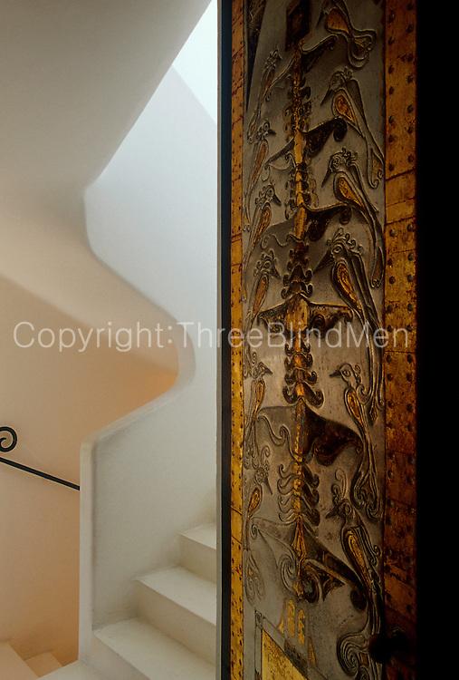 Geoffrey Bawa's home in Colombo.