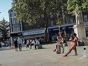 Outside the Duke of York's Barracks, Sloane Sq. King's Rd. London. 14 September 2016