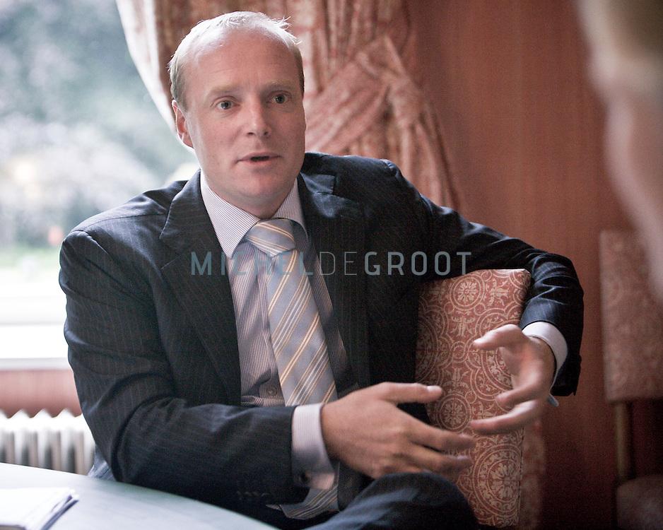 Prins Carlos van Bourbon de Parma op 10 July, 2008 in Wijk bij Duurstede, The Netherlands. (photo by Michel de Groot)