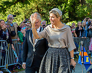 Apeldoorn,  5-10-2016  <br /> <br /> Queen Maxima opened the Anna Paulowna Colorful Queen  exhibition at The Loo Palace.<br /> <br /> COPYRIGHT ROYALPORTRAITS EUROPE/ BERNARD RUEBSAMEN