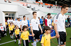 Marc Oliver Kempf of Germany and Niklas Suele of Germany during the UEFA European Under-17 Championship Group A match between Iceland and Germany on May 7, 2012 in SRC Stozice, Ljubljana, Slovenia. Germany defeated Iceland 1-0. (Photo by Vid Ponikvar / Sportida.com)
