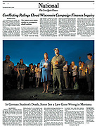 Missoula garage shooting story in National section of The New York Times