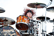 Hinder performing at Carolina Rebellion at Metrolina Expo in Charlotte, NC on May 7, 2011
