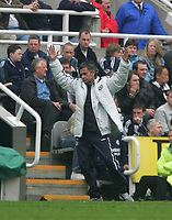 Photo: Andrew Unwin.<br /> Newcastle United v Chelsea. The Barclays Premiership. 07/05/2006.<br /> Chelsea's manager, Jose Mourinho.