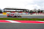 February 19, 2013 - Barcelona Spain. Daniel Ricciardo, Scuderia Toro Rosso  during pre-season testing from Circuit de Catalunya.