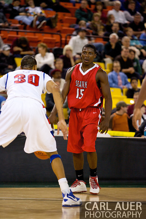 November 27, 2008: Seattle University guard Chris Gweth (15) in the opening round of the 2008 Great Alaska Shootout at the Sullivan Arena