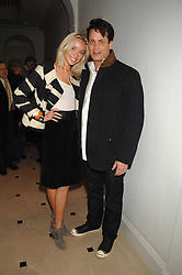 MATTHEW MELLON and NOELLE RENO at a party hosted by Jasper Conran to launch his 2 new fragrances 'Mister' & 'Mistress' at his store at 36 Sackville Street, London W1 on 17th September 2007.<br /><br />NON EXCLUSIVE - WORLD RIGHTS