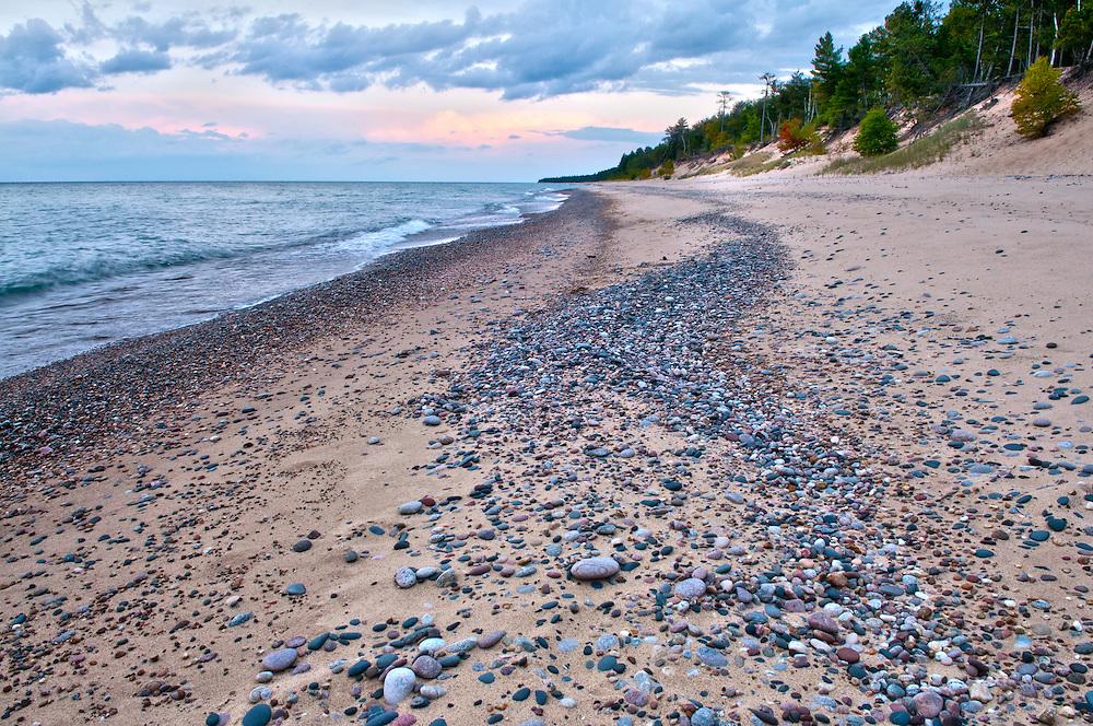 Twelve Mile Beach<br /> Pictured Rocks National Lakeshore, Michigan's Upper Peninsula