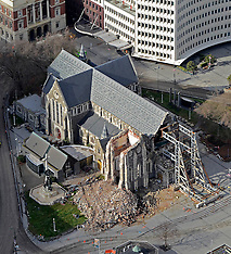 Christchurch-File photo of Cathedral which will be deconsecrated Wednesday