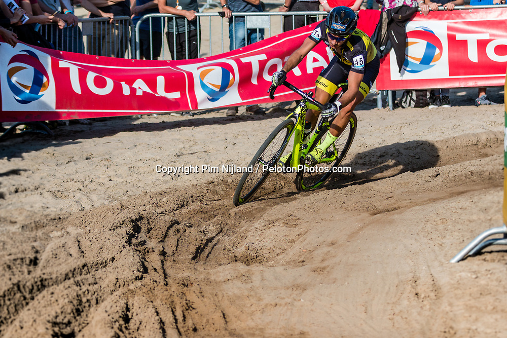 Gioele BERTOLINI (ITA) during the Men Elite race at the 2018 Telenet Superprestige Cyclo-cross #1 Gieten, UCI Class 1, Gieten, Drenthe, The Netherlands, 14 October 2018. Photo by Pim Nijland / PelotonPhotos.com | All photos usage must carry mandatory copyright credit (Peloton Photos | Pim Nijland)