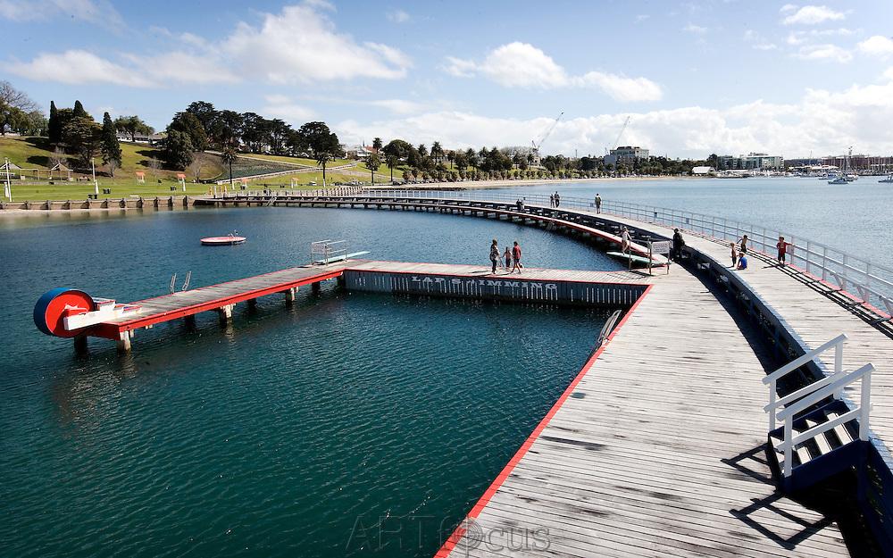 Eastern Beach boardwalk in Geelong