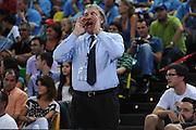 Taranto 04-06-2011<br /> Qualifying Tournament Eurobasket Women 2011<br /> Italia-Spagna<br /> Nella foto Dino Meneghin<br /> Foto di Ciamillo-Castoria