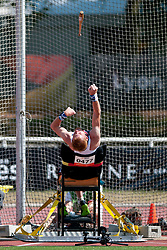MILLER Stephen, GBR, Club Throw, F31/32/51, 2013 IPC Athletics World Championships, Lyon, France