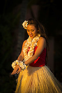 USA, Hawaii, Oahu, Honolulu, Waikiki, hula girl