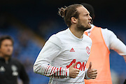 Daley Blind Midfielder of Manchester United in warm up during the Premier League match between Chelsea and Manchester United at Stamford Bridge, London, England on 23 October 2016. Photo by Phil Duncan.