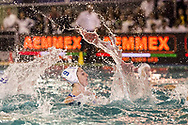 9 Giulia EMMOLO ITA<br /> ITA v HUN Italy (white cap) versus Hungary (blue cap)<br /> FINA Women Water Polo World League qualification round<br /> Avezzano (AQ) Italy ITA Piscina Comunale Avezzano <br /> Centro Italia Nuoto  Unipol<br /> April 18th, 2017 <br /> Photo &copy;G.Scala/Deepbluemedia/Insidefoto