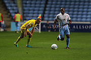 AFC Wimbledon defender & captain Barry Fuller (2) during the EFL Sky Bet League 1 match between Coventry City and AFC Wimbledon at the Ricoh Arena, Coventry, England on 28 September 2016. Photo by Stuart Butcher.