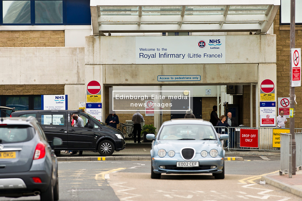 Pictured: <br /> <br /> It was business as usual for a a busy hospital as police in Edinburgh attended the Edinburgh Royal Infirmary at 9.06 am today, Thursday 22nd June, after staff became suspicious about a man seen in the hospital.<br /> <br /> Officers made a search of the hospital along with NHS security. <br /> <br /> The man was not traced and further inquiries are being carried out to establish his reason for being at the hospital.<br /> <br /> <br /> Ger Harley | EEm 22 June 2017