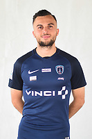 Martin Mimoun during photoshooting of Paris FC for new season 2017/2018 on October 17, 2017 in Paris, France<br /> Photo : Stephane Valade / Icon Sport