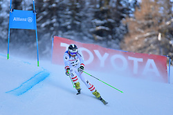 MORGENFURT Gernot Guide: GMEINER Christoph Peter, B2, AUT at 2018 World Para Alpine Skiing World Cup, Veysonnaz, Switzerland