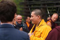 Visite de Karmapa à Dhagpo, Saint-Léon-sur-Vézère