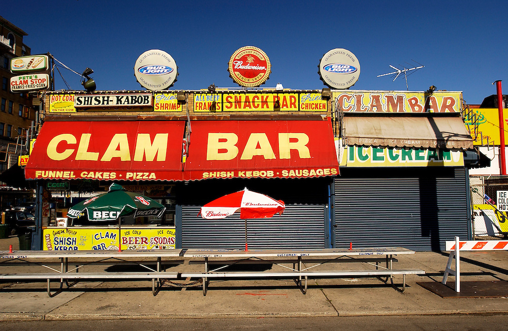 Coney Island New York Clam Bar